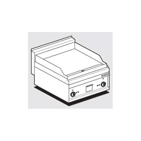 Fry-Top Electrique Plaque Acier Lisse Chrome