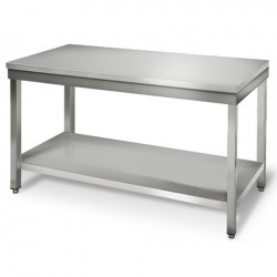 Table inox central  longueur 800mm