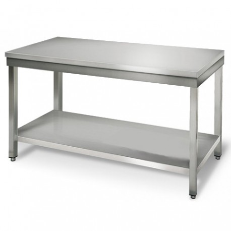 TABLE INOX LONGUEUR 2000MM