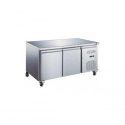 Table Réfrigérée  Positive 2 Portes sans  Dosseret Série S 600